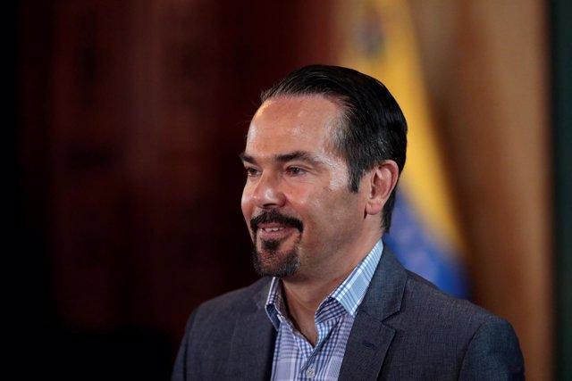 El embajador de Francia en Venezuela, Romain Nadal.