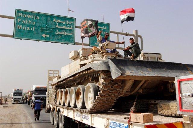Convoy del Ejército iraquí