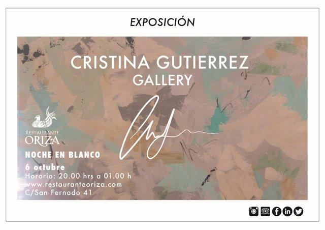 Cartel de la exposición para la Noche en Blanco