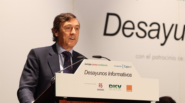 Rafael Hernando, en los Desayunos de Europa Press Andalucía