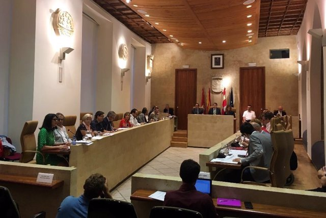 Pleno en el Ayuntamiento de Salamanca