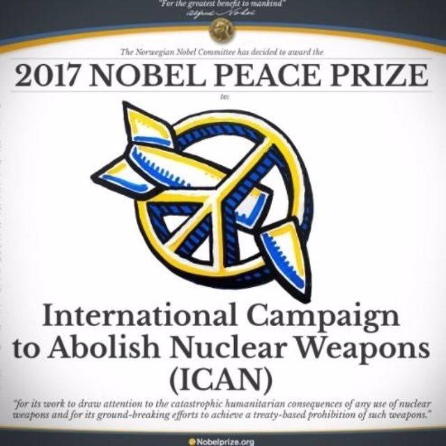 ICAN Nobel Paz