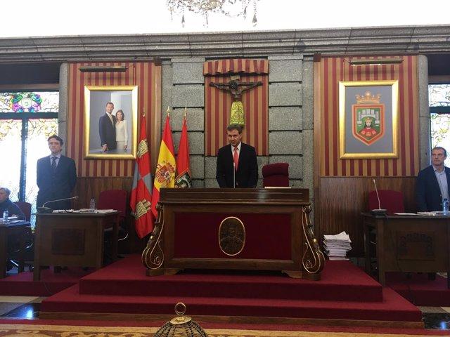 Pleno en el Ayuntamiento de Burgos