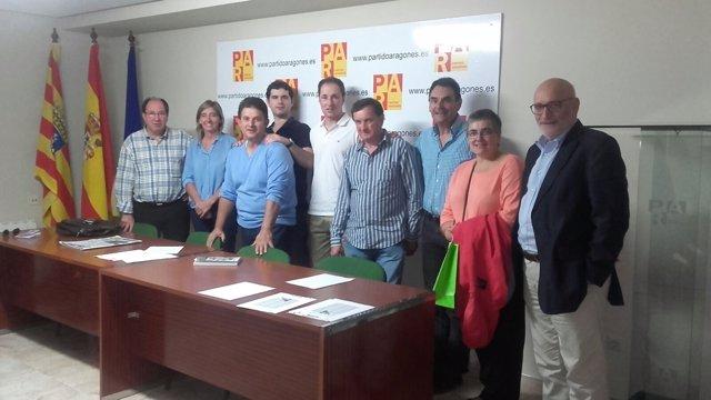 Comité del PAR en la Comarca de Teruel