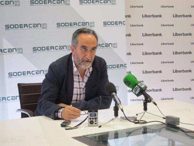 Salvador Blanco, consejero delegado de Sodercan
