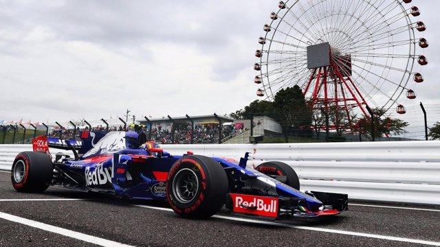 Carlos Sainz (Toro Rosso) en el GP Japón