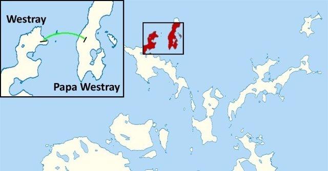 Westray a Papa Westray