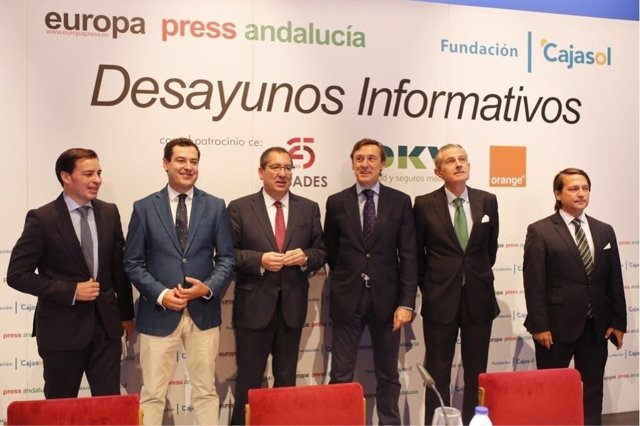 Desayuno informativo organizado por Europa Press Andalucía en Almería