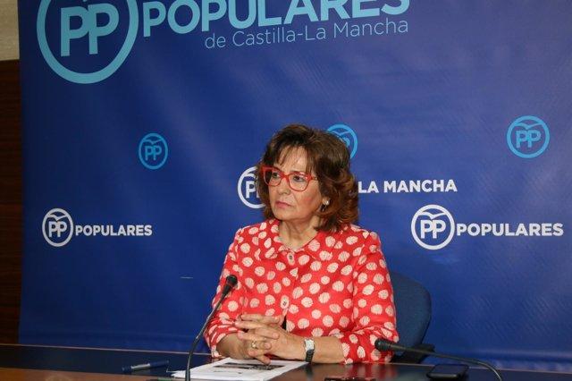 Pp Clm (Cortes De Voz Y Fotografía) Carmen Riolobos En Rueda De Prensa, 061017
