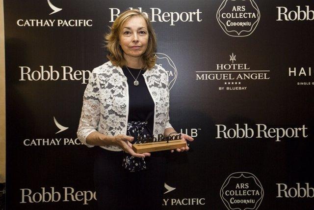Elia Garcia Menendez con el premio Best of the Best 2017
