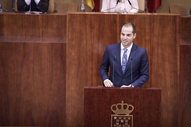 Ignacio Aguado, portavoz de Cs en la Asamblea de Madrid