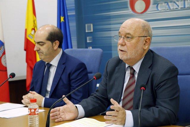 10:30Sala De Prensa Del Gobierno De CantabriaEl Consejero De Economía, Haciend