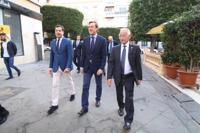Moreno, Hernando y Amat acuden a los Desayunos de Europa Press Andalucía