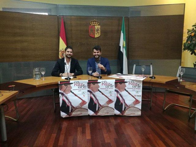 Presentación del programa Enraizarte de la Diputación de Cáceres