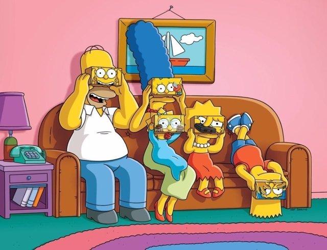 Imagen promocional de Los Simpson