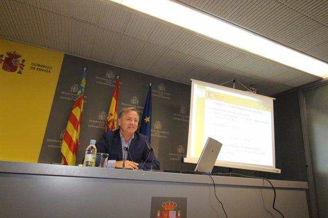 Juan Carlos Moragues en una imagen de archivo