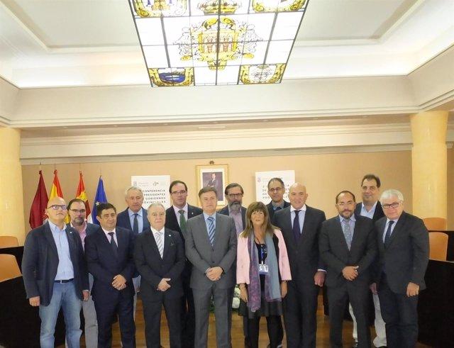 Presidentes de las diputaciones en la Conferencia
