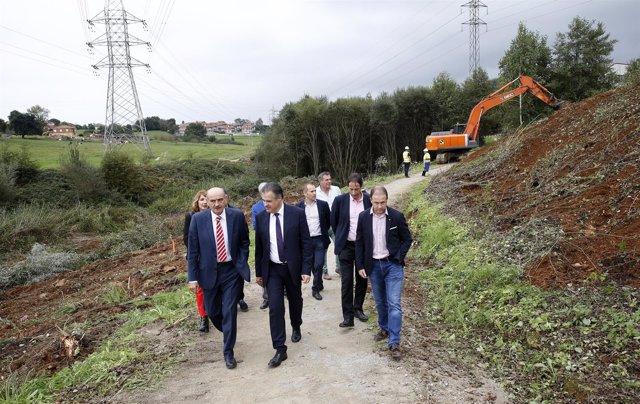 Obras de la nueva carretera