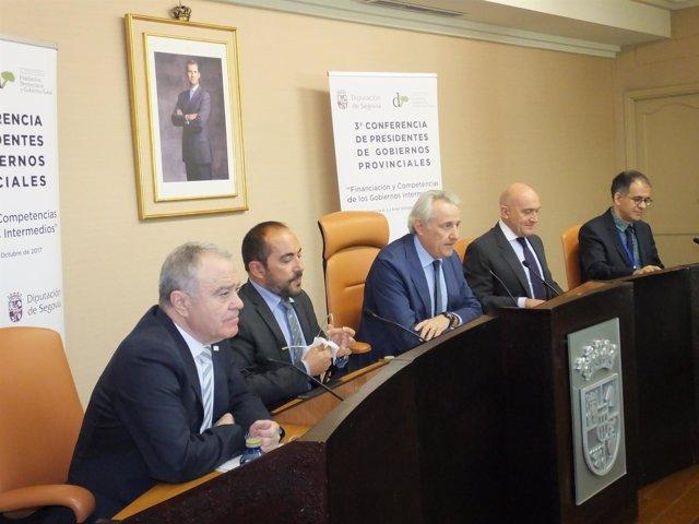 Presidentes participantes en la Conferencia