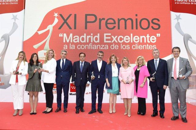 Foto Premios Madrid Excelente a la Confianza de los Clientes
