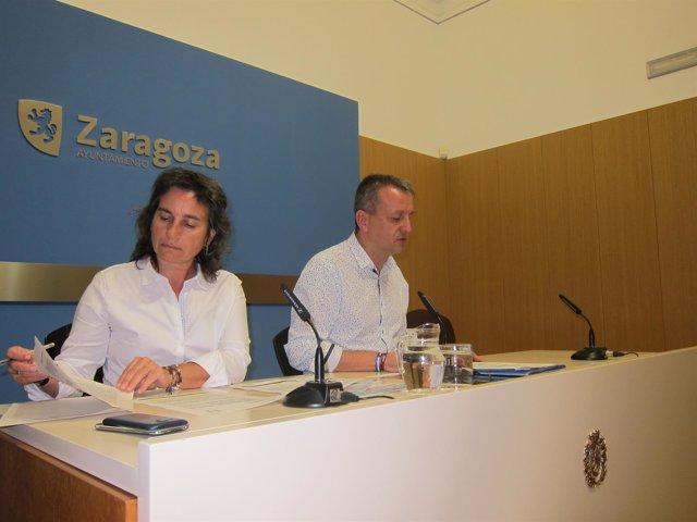 Luisa Broto y Fernando Rivarés