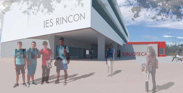 IES Rincón proyecto maqueta educación junta