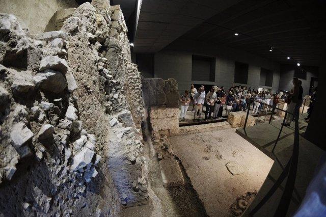 Visita a la cripta