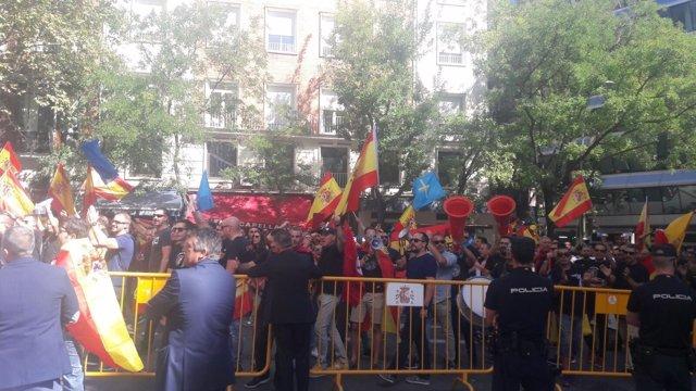 Manifestación de Jusapol en Madrid del 6 de octubre