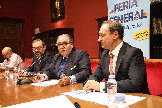 Presentación de la Feria General.