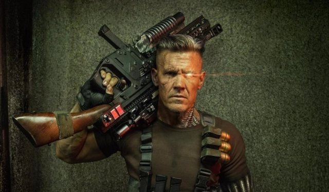 Cable, histriónico en la nueva imagen de Deadpool 2