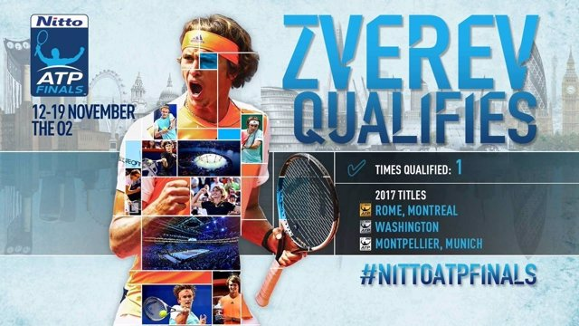 Alexander Zverev Finals ATP Londres