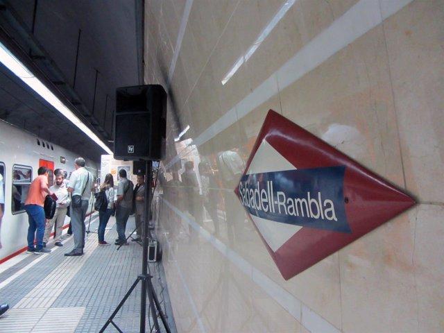 La antigua estación de FGC Sabadell Rambla