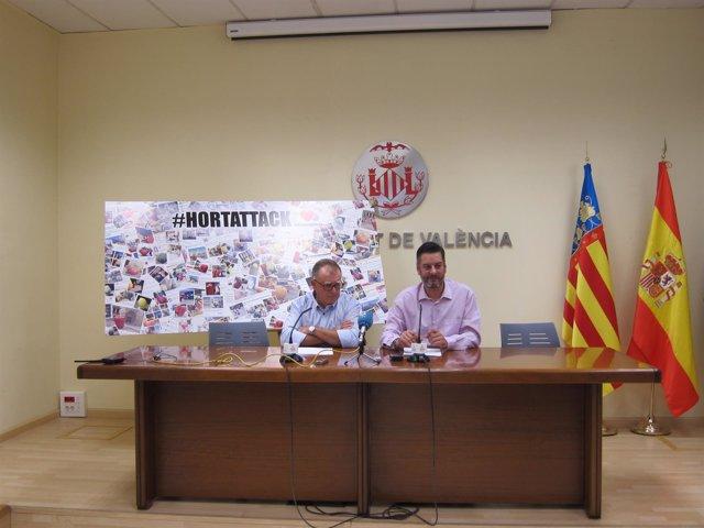 Salvador Meseguer y Carlos Galiana #HortAttack
