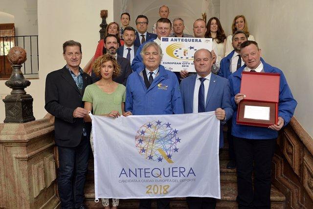Antequera, ciudad Europea del Deporte