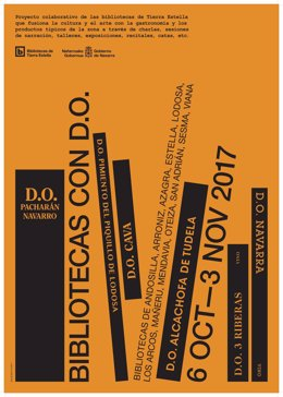 Cartel del programa 'Bibliotecas D.O.'