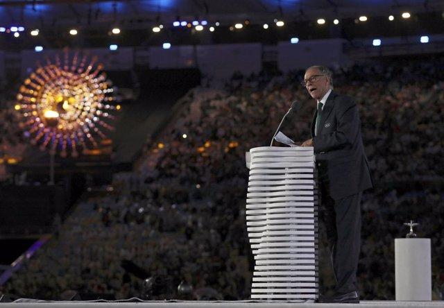 Carlos Arthur Nuzman, presidente de Río 2016