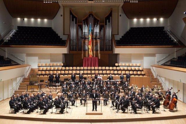 Concierto de la banda municipal de València