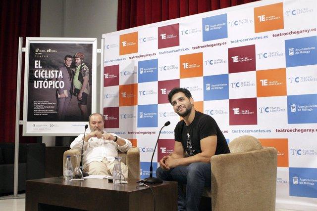 Fran Perea presenta 'El ciclista utópico' en la que actúa