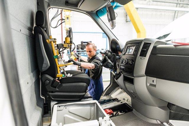 Foto recurso producción Mercedes-Benz Vans