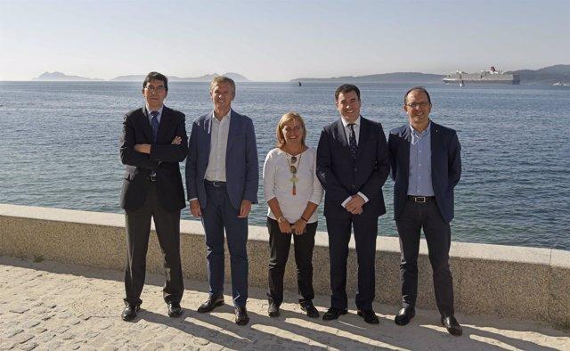 La Xunta celebra la inclusión de las Illas Atlánticas en la Lista Indicativa