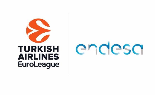 Logos de Euroliga y Endesa