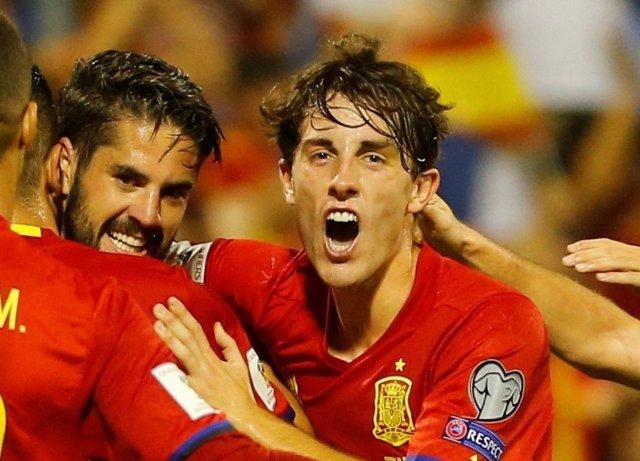 Álvaro Odriozola debuta con la selección española
