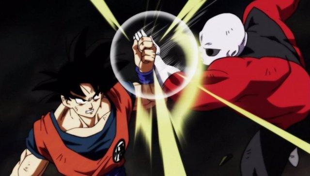 Goku y Jiren en Dragon Ball Super