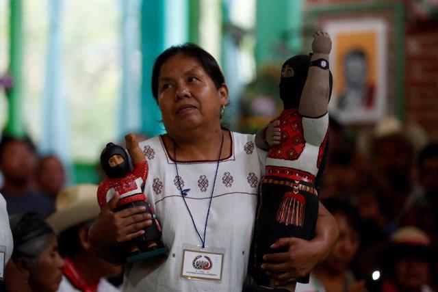 Maria de Jesus Patricio Martinez, Marychuy, candidata presidencial del EZLN