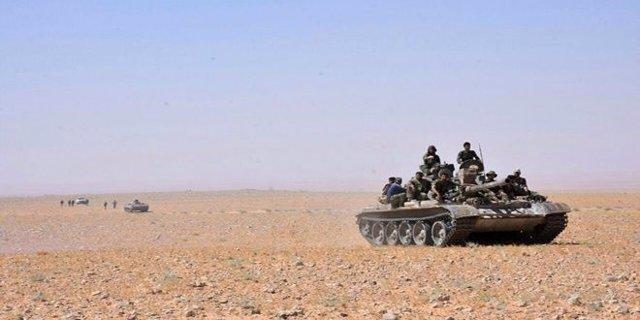 Carro de combate del Ejército sirio