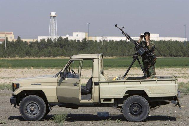 Camioneta de la Guardia Revolucionaria