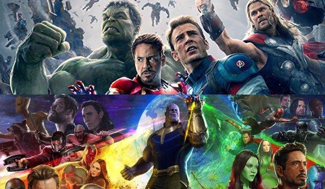 'Vengadores: La Era De Ultrón' Y 'Vengadores: Infinity War'