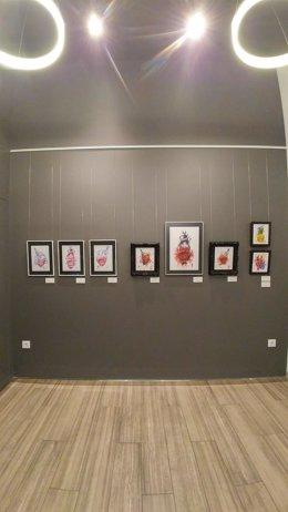 Exposición de Ben Tocha en el Muro Ocho de Cáceres