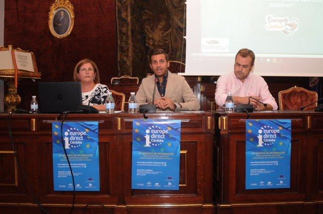 Diputación de Córdoba recibe a los galardonados del Concurso Europa Junior