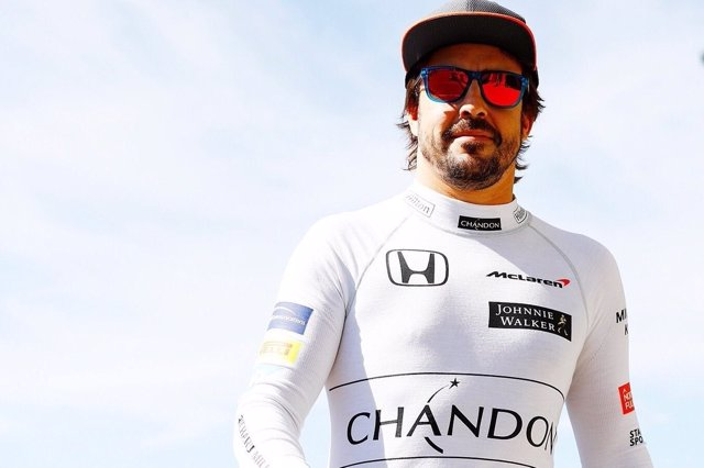 Fernando Alonso McLaren Japón